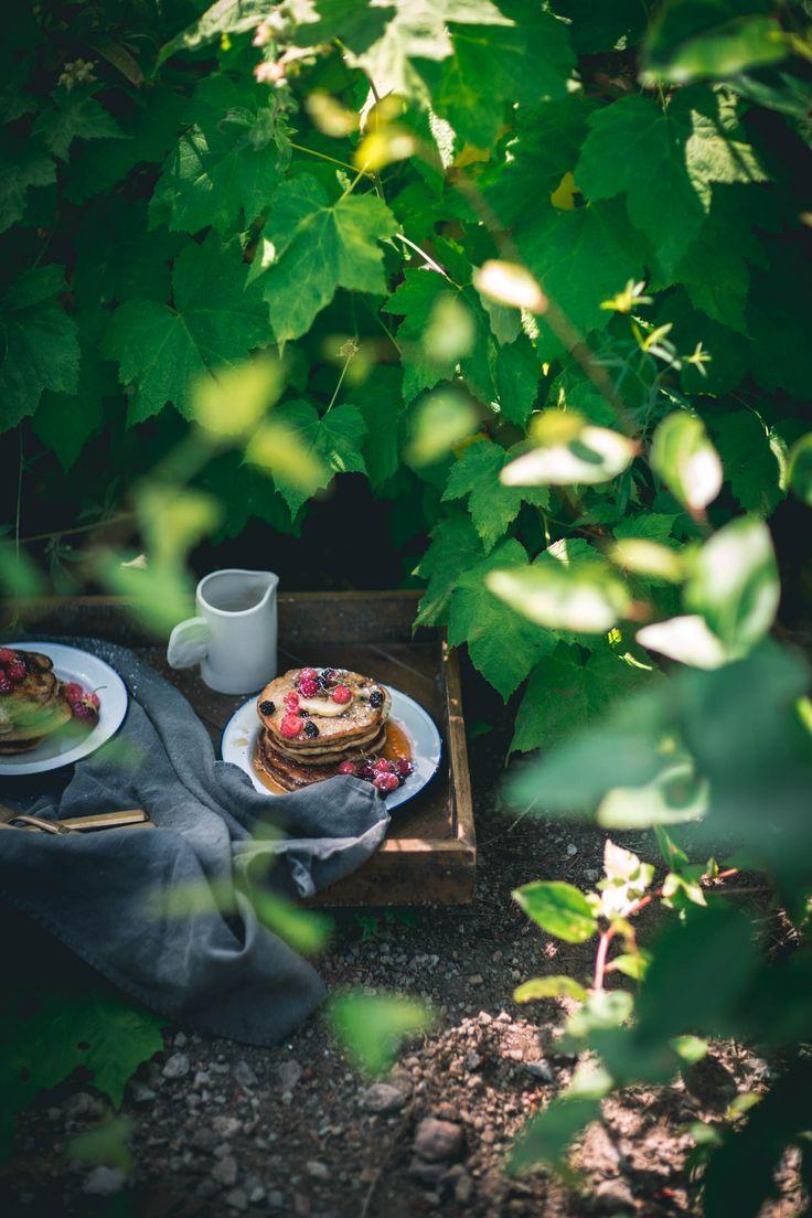 Blackberry Cornbread Pancakes + A Summer Camping Guide ...