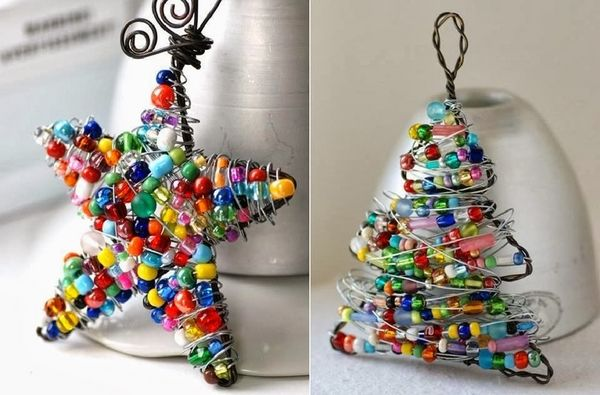 How To Use Creatively Wire Christmas Decorations In Our Holiday