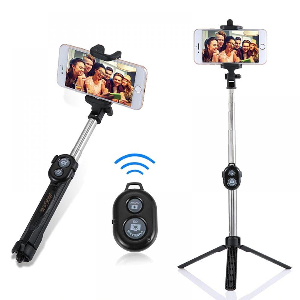 Extendable bluetooth selfie stick selfie stick