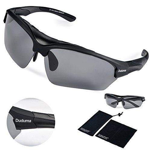 155d33c8b8d Duduma® Polarized Fashion Designer Sports Sunglasses for Cycling Running  Baseball Fishing Tr628 Superlight Frame (