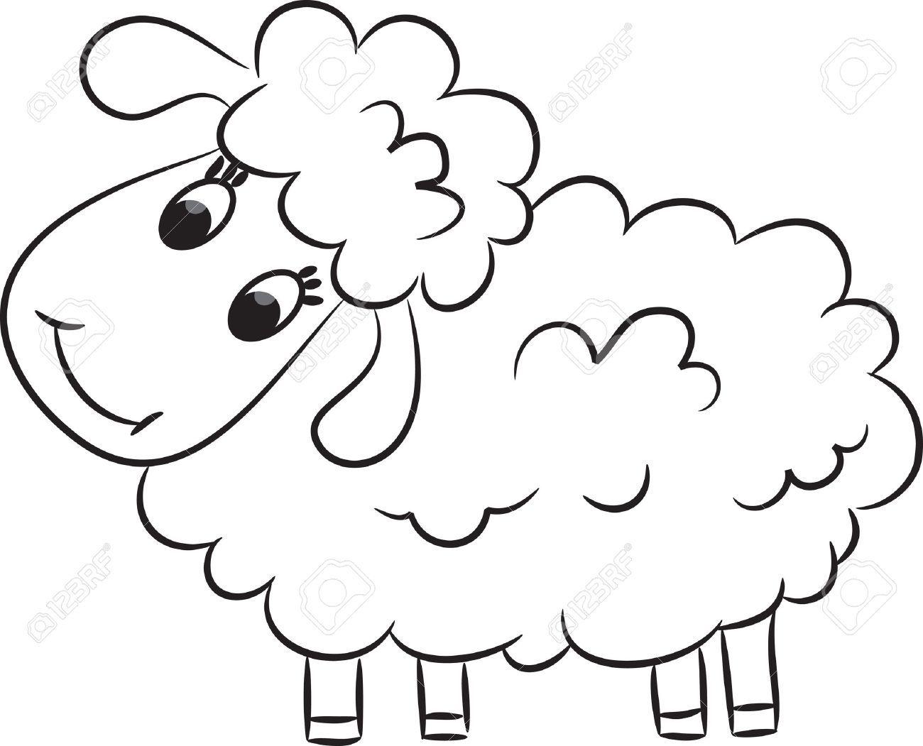 Cartoon Sheep Book Cliparts Stock Vector And Royalty Free Cartoon