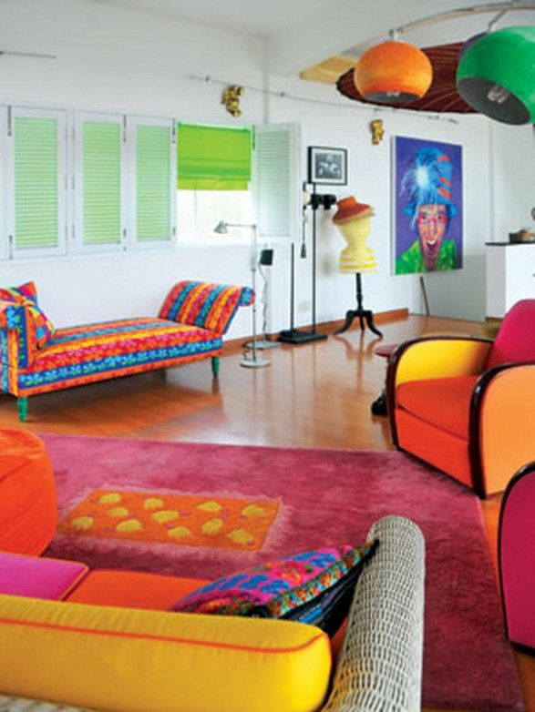 Decor De Maison En Pop Art