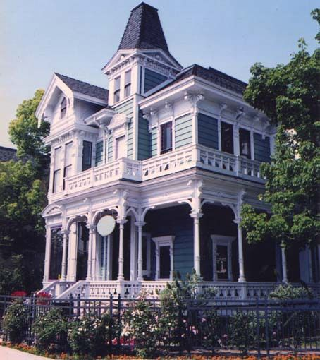 Widely Believed To Be The Sixth Oldest Home In Los Angeles Usc Community House Was Designated Historic C Victorian Homes Community Housing Victorian Era Homes