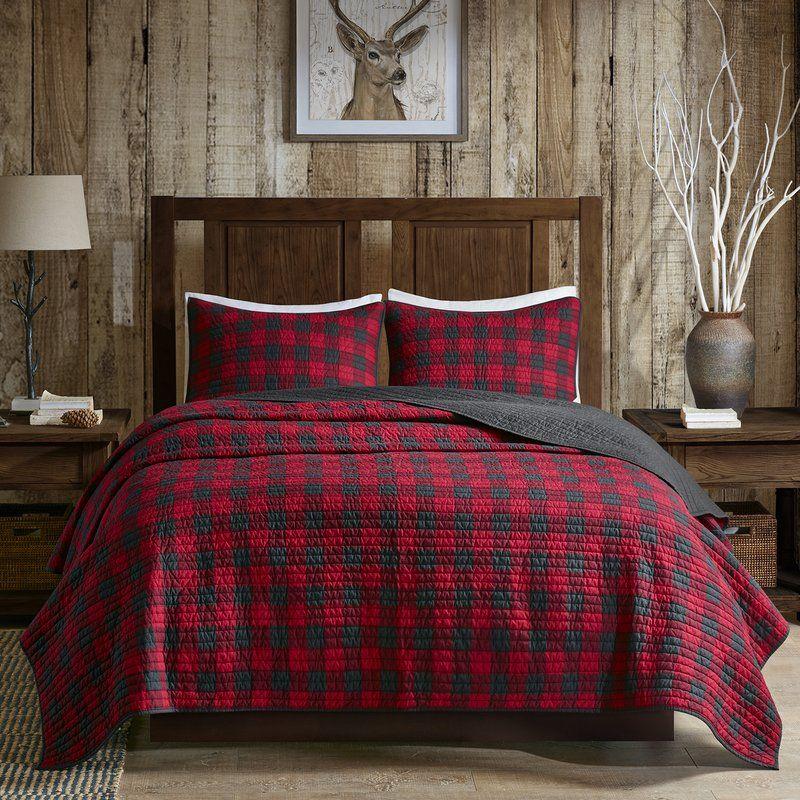 Woolrich Check Quilt Set King Quilt Sets Plaid Bedding