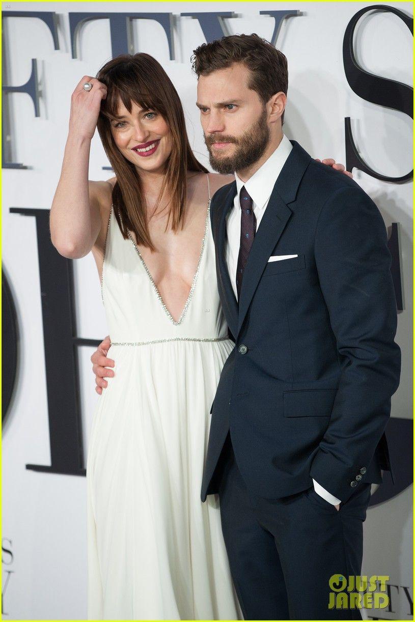 Jamie Dornan & Dakota Johnson Premiere 'Fifty Shades of ...