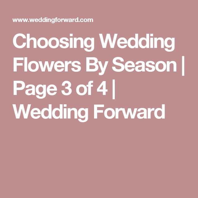 Choosing Wedding Flowers By Season | Page 3 of 4 | Wedding Forward