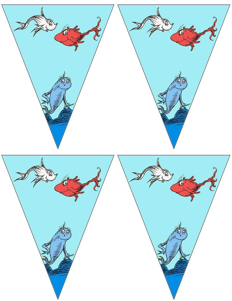 FREE printable Dr.Seuss banners ..... free to use and free to share ...