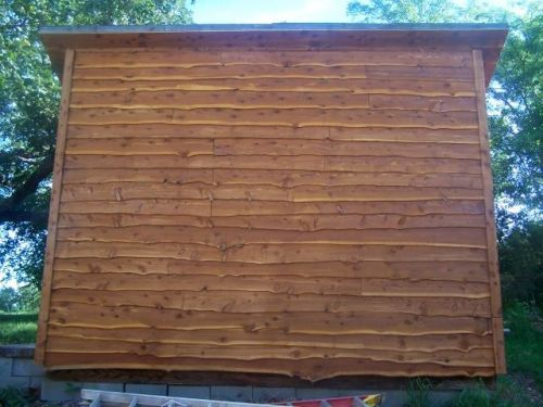 Wavy Edge Cedar And Steel Siding Google Search Steel Siding Cedar Siding House Siding