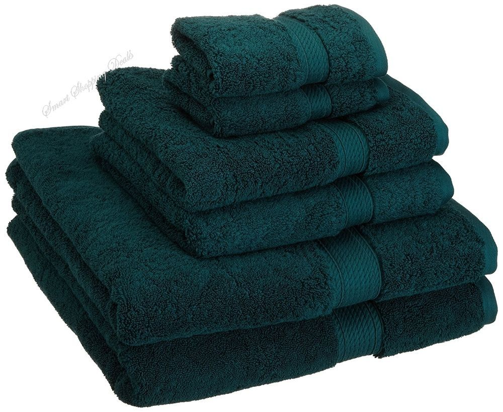 Luxury Bathroom Towel Set 6 Piece Bath Towels Sets Soft Hotel