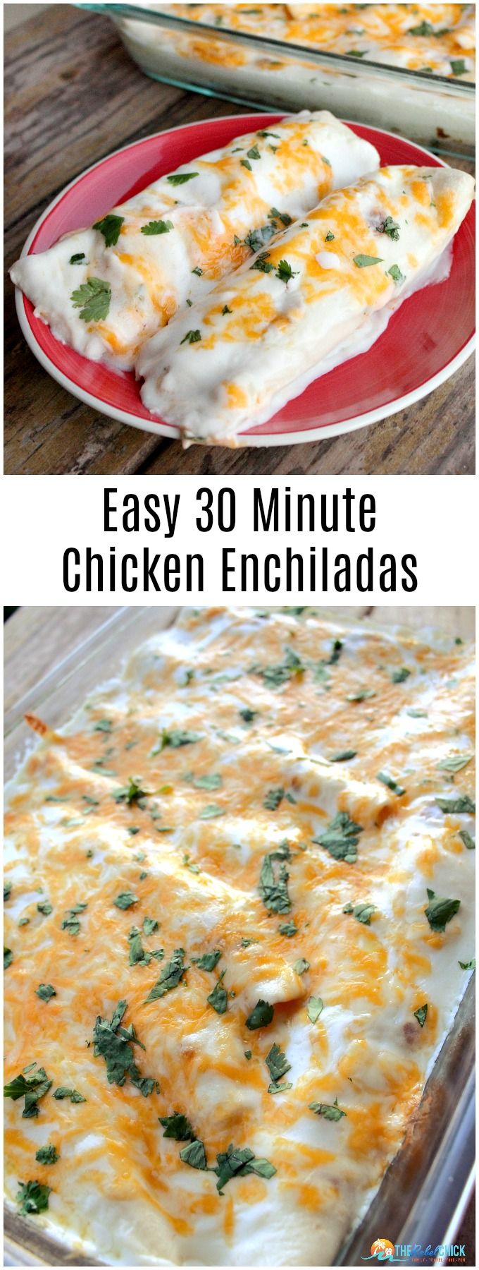 Chicken Enchiladas Recipe Easy Weeknight Meal #easydinners