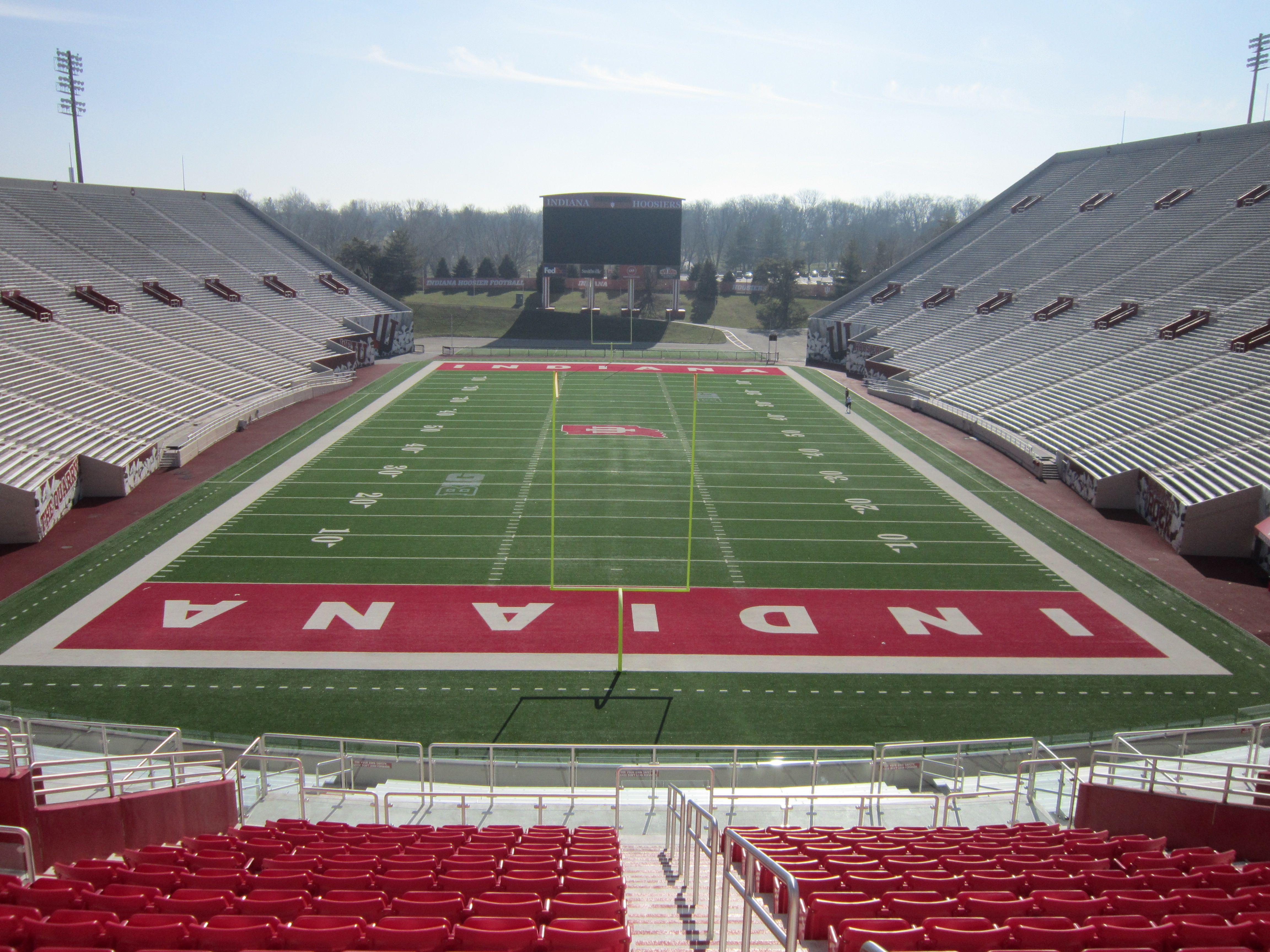 Indiana memorial stadium football stadiums bloomington