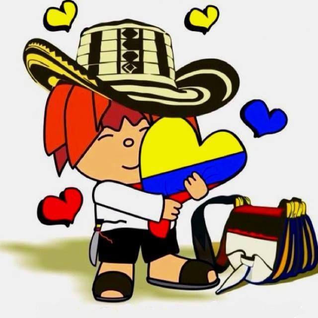 Amo Mi Pais Colombia Independencia De Colombia Bandera De Colombia