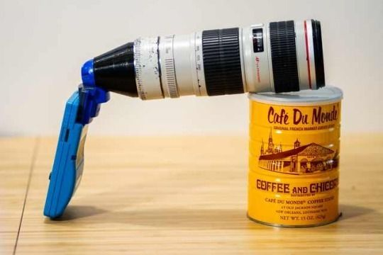 Photographer Bastiaan Ekeler made a modified zoom lens so that he could take photos of distant obje