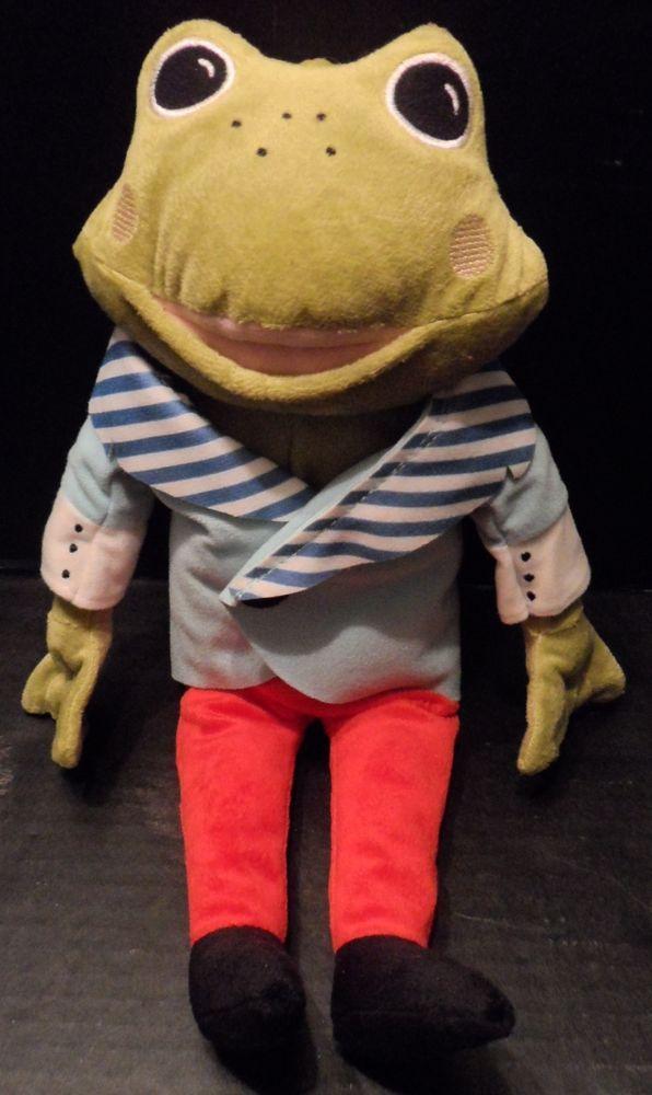 "Plush Frog Prince Tosig Stuffed Animal Toy Prince Removable Jacket 14"" Ikea #Ikea"