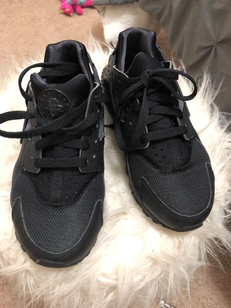 404d1bb5cf57d 634835012 NIKE AIR HUARACHE RUN BLACK WOMEN SNEAKER SIZE 6  fashion   clothing  shoes  accessories  womensshoes  athleticshoes (ebay link)