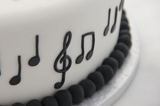 Cakey Goodness Blog Archive Musical themed 30th birthday cake
