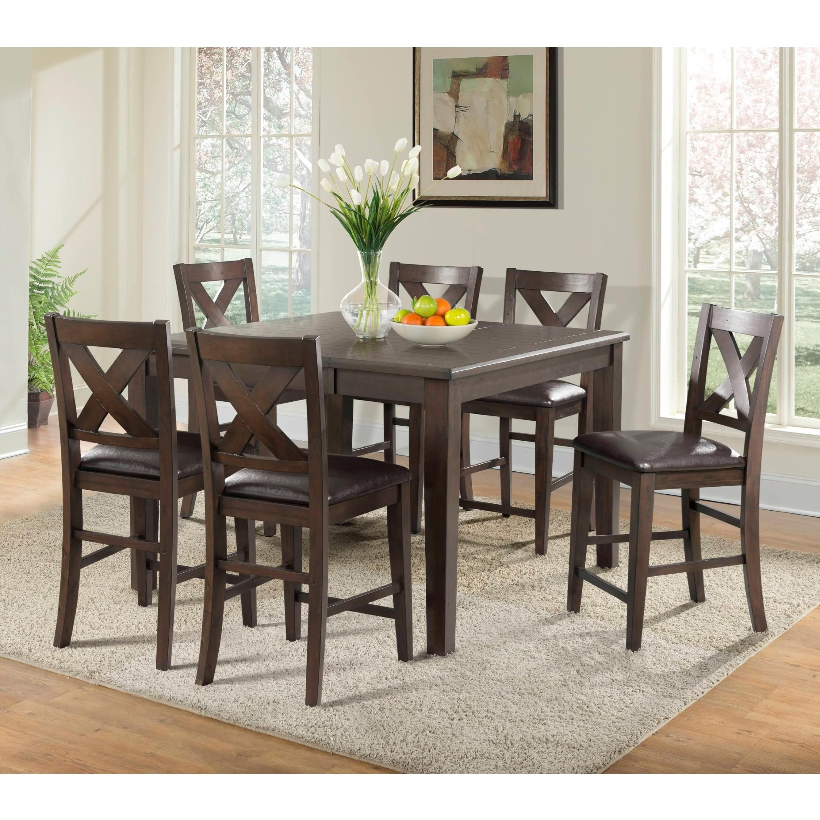 Cooper Ridge Counter Height Table And Chair Set By Elements