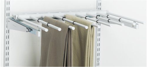 Rubbermaid Configuration Pants Rack White For Black Tablecloth Storage In Ej Hall 40 00