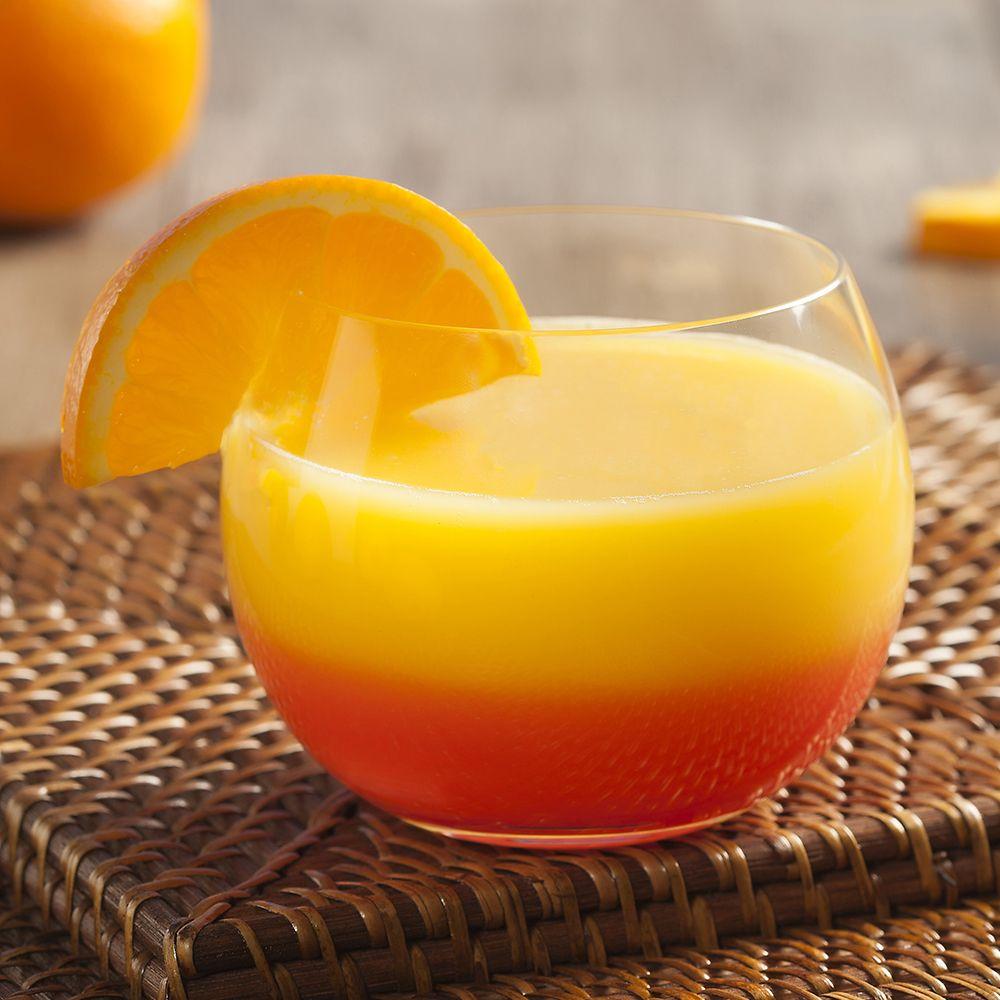 Tequila Sunrise 2 parts Hornitos® Reposado Tequila 2 parts Orange Juice 2 dashes Grenadine Orange Twist