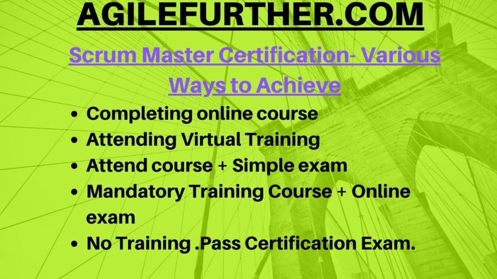 How To Become Certified Scrum Master In 2020 Scrum Master Scrum Master