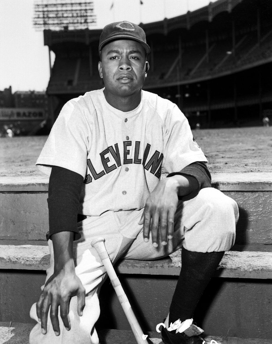 Larry Doby First black player in American League