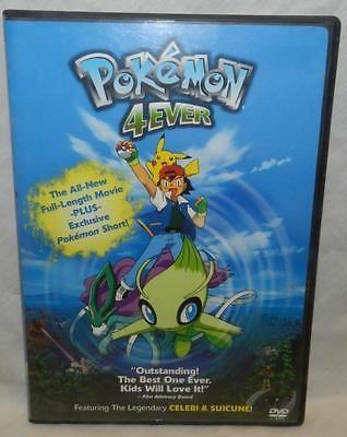 Pokemon 4ever Dvd 2003 Pokemon Movies Pokemon New Pokemon