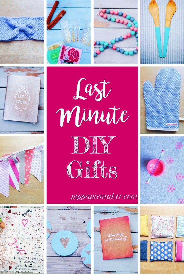 Eine Sammlung an ganz einfachen DIY Geschenken für jeden Anlass! Vatertag, Muttertag, Geburtstag, für jeden ist eine Geschenkidee dabei.