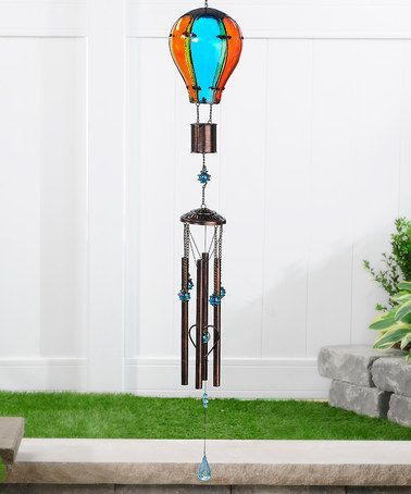 Love This Hot Air Balloon Wind Chime On Zulily Zulilyfinds