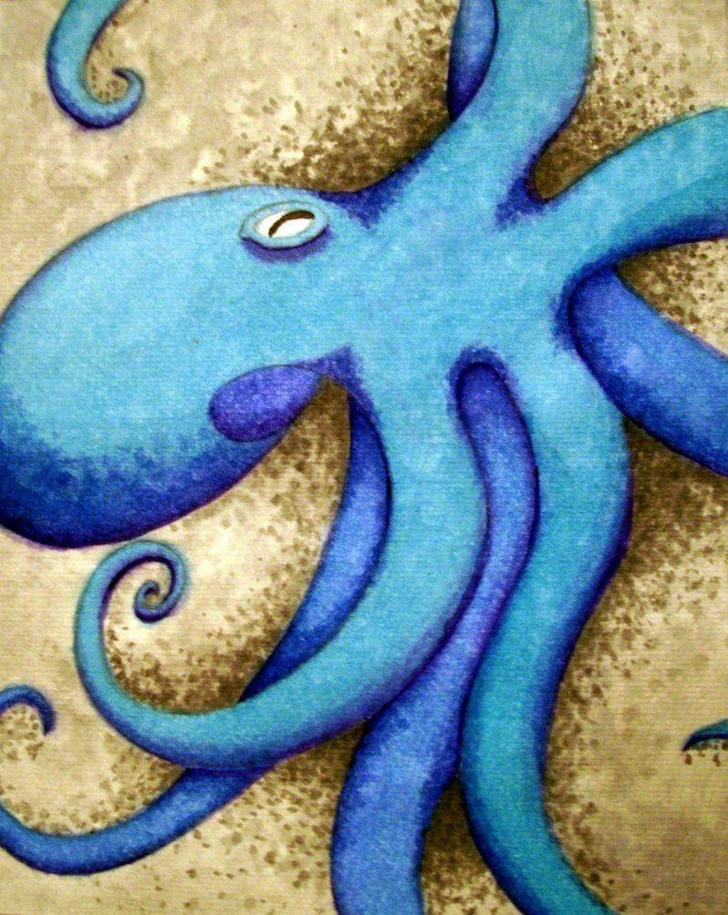 Octopus by ~SeeminglyStoic on deviantART