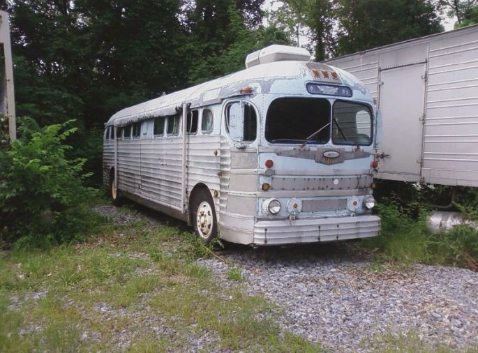 1949 Greyhound GMC 3751 1957 - Antique Buses, Motorcoach