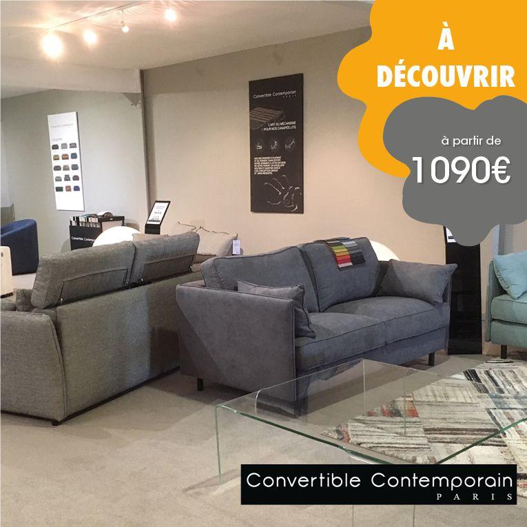 Convertible Contemporain Paris Canape Design Decoration Maison Convertible