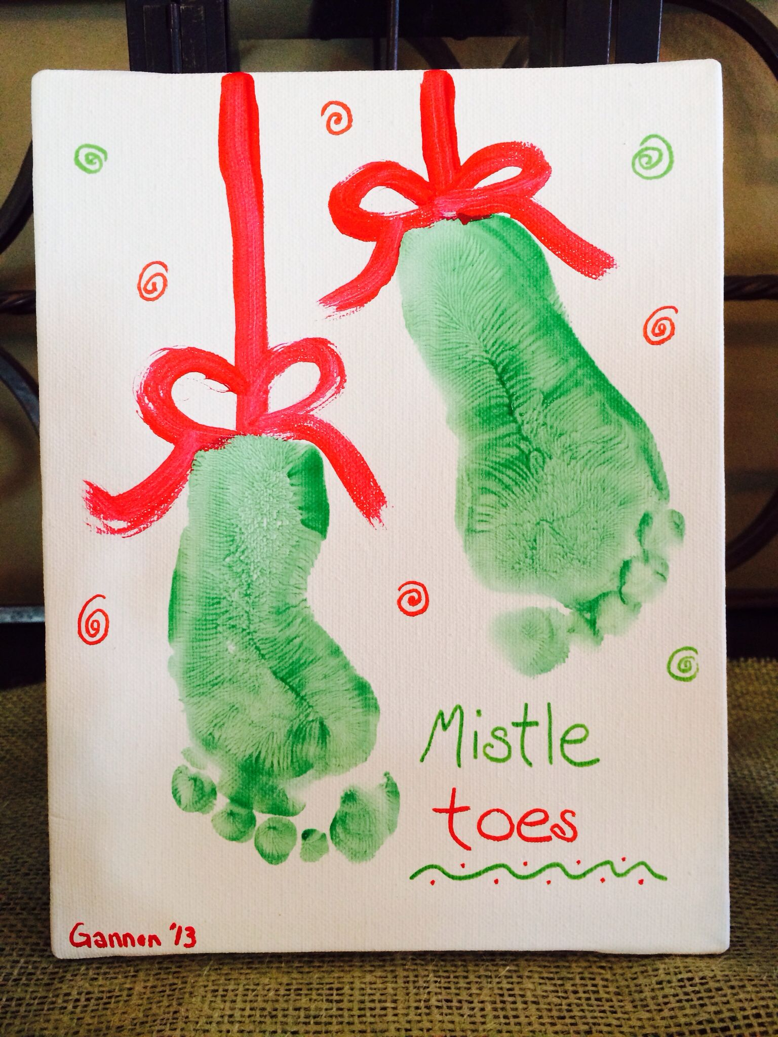 Mistletoes Craft Ok Trella Girlswhat About This For 2015 Christmas