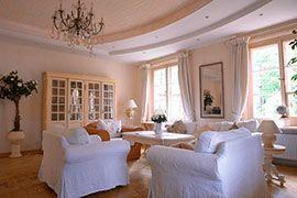 Gemütlich und natürlich: Wohnzimmer im Landhausstil | Mediterran ...