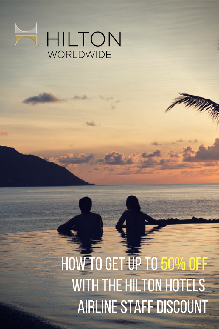 Let me show you how you can save up to 50% off of Hilton Hotel room rates if you're working in the airline industry.  All you need is your ID and these steps.  #Hilton #HiltonHotels #AirlineStaff #AirlineIndustry #HotelDiscount #HotelPromo #HotelSale