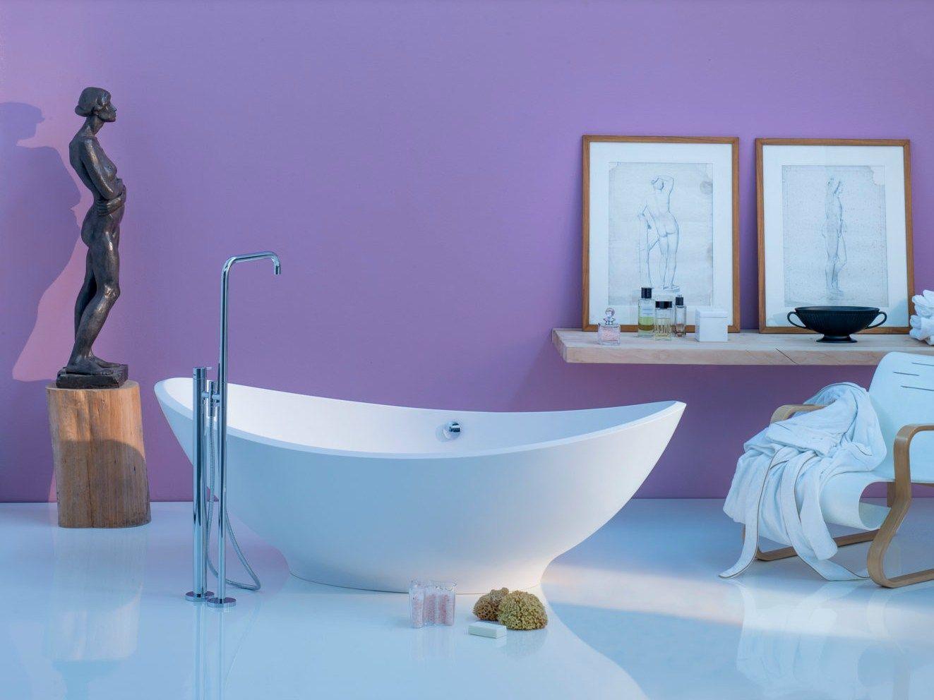 Vasca da bagno centro stanza ovale LAVASCA by Rapsel | design Matteo ...
