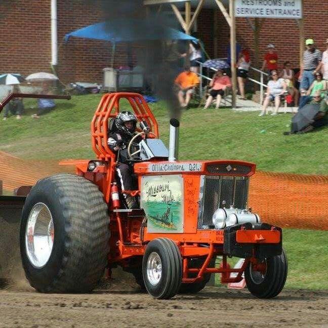 Missouri mule D21 ac    Tractors big & small, pulling