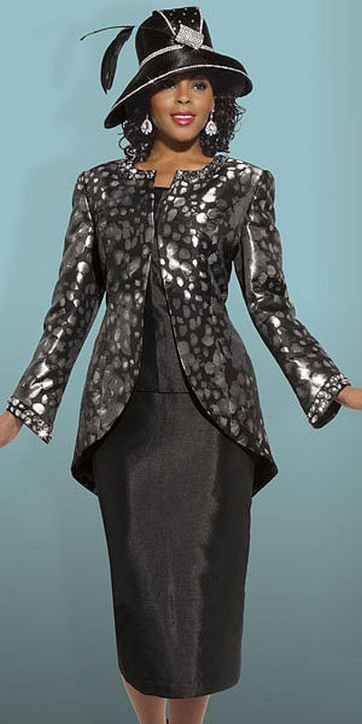 458aa9a27ce Donna Vinci Couture 5442 Womens Church Suit image