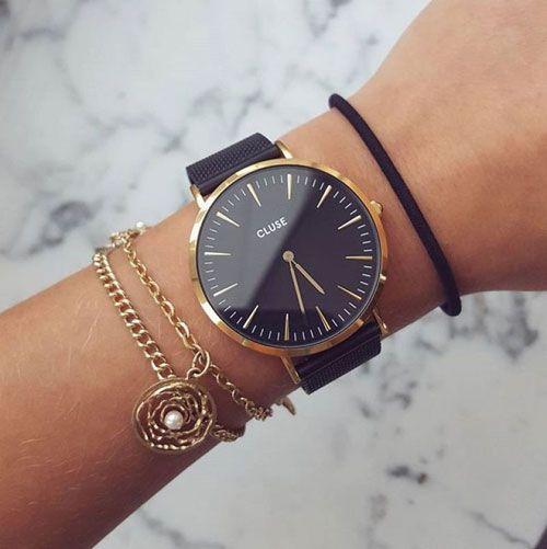 Compre relojes Cluse con una garantía de 3 años de nosotros en línea