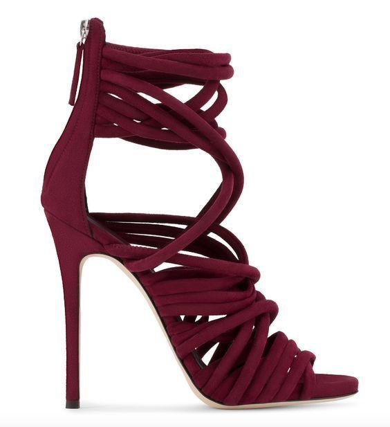 33bdeb00b2c Shoe Inspiration - Giuseppe Zanotti | Fashion | Shoes, Heels, Maroon ...