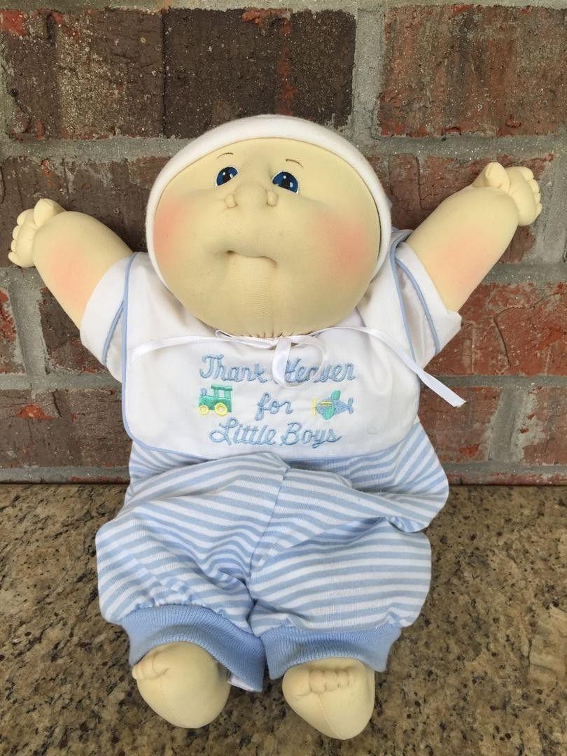 Xavier Roberts Cabbage Patch Kids Soft Sculpture Baby Boy Preemie Newborn 1885629149 Cabbage Patch Kids Cabbage Patch Kids Dolls Cabbage Patch
