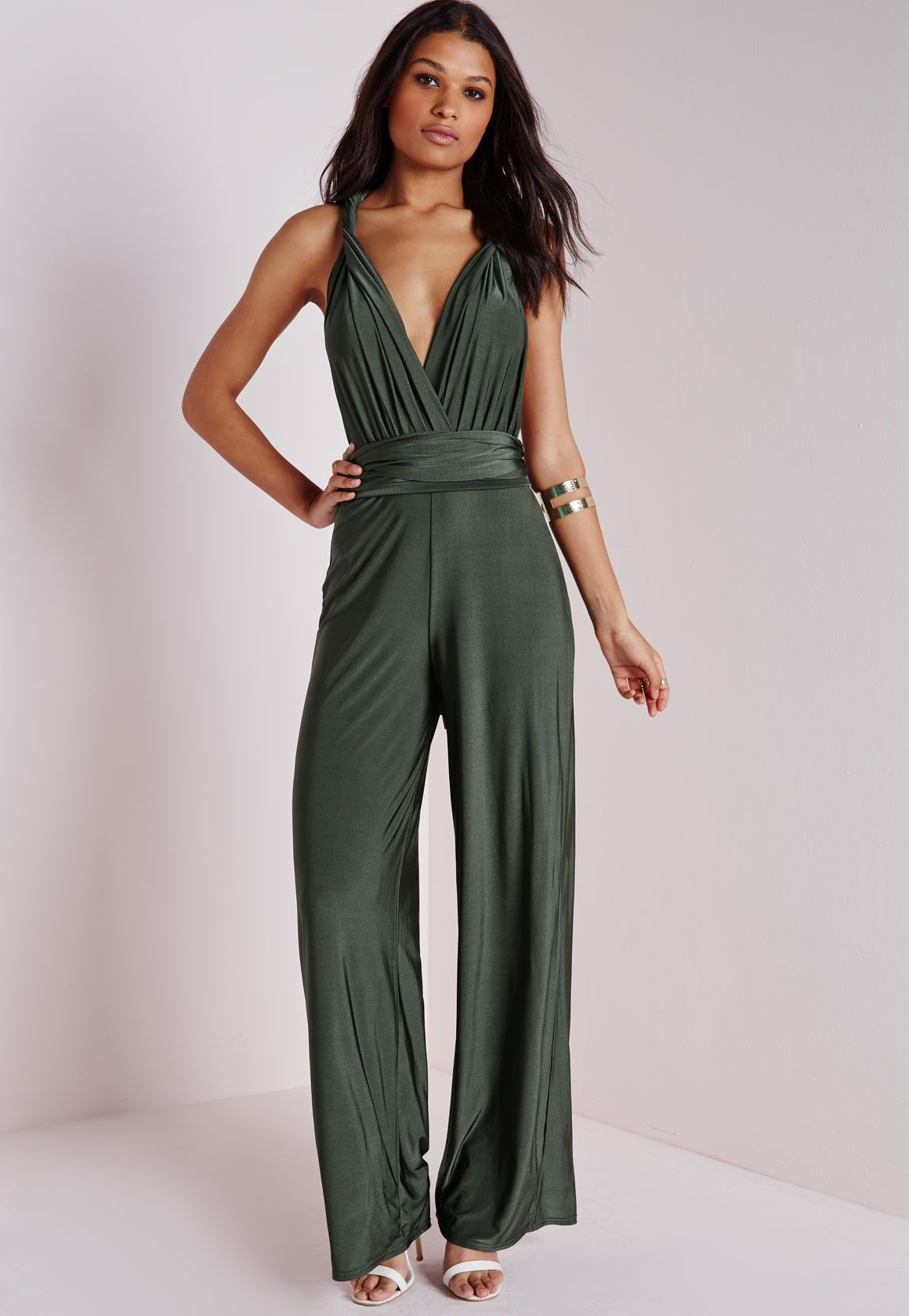 defafe5cc34 Missguided - Do It Any Way Multiway Jumpsuit Navy