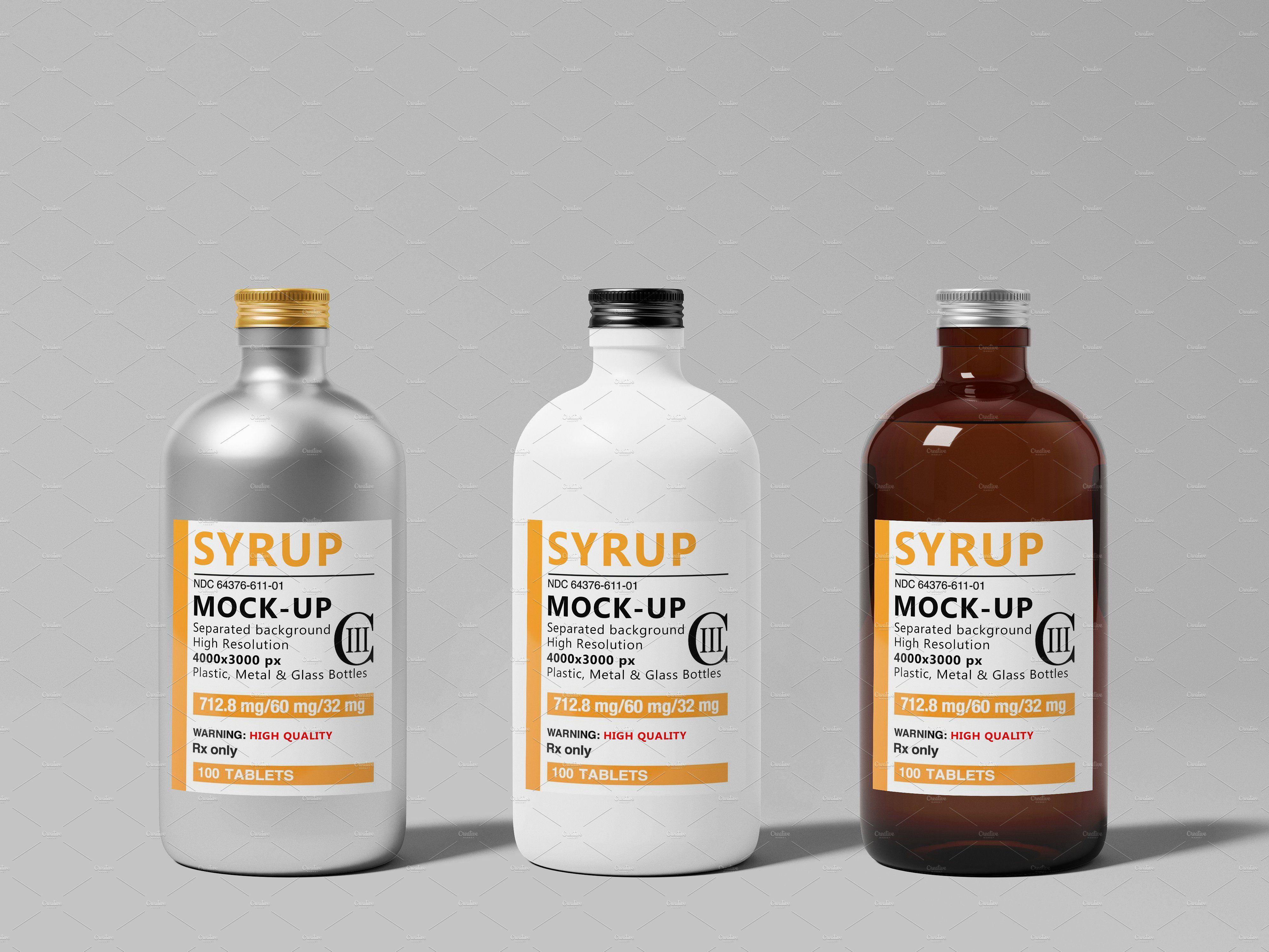 Download Syrup Bottle Mock Up Syrup Bottle Bottle Bottle Mockup Yellowimages Mockups