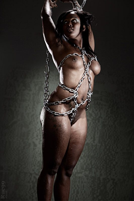 Confirm. join ebony submissives in bondage removed