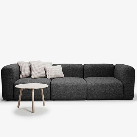 Pump 3 Seater Sofa By Versus Origin Denmark Material Plywood