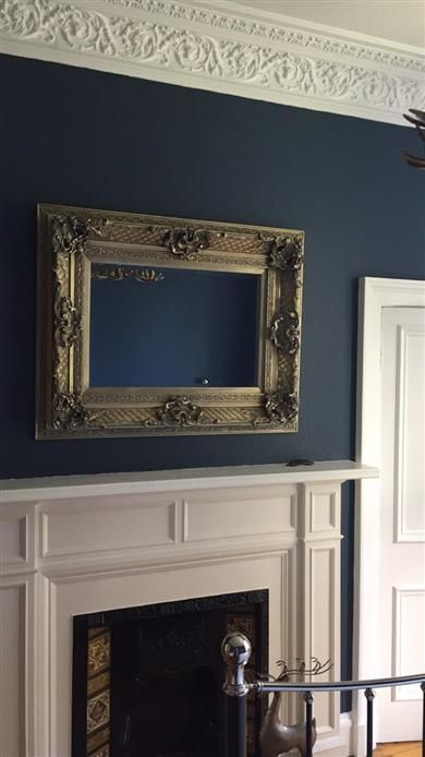 Dulux Avengers Bedroom In A Box: Main Bedroom In Stiffkey Blue No 281 By Farrow And Ball