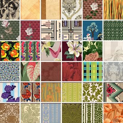 Secondhand Rose Vintage Wallpaper Linoleum In Nyc Decor8 Vintage Wallpaper Linoleum Linoleum Flooring