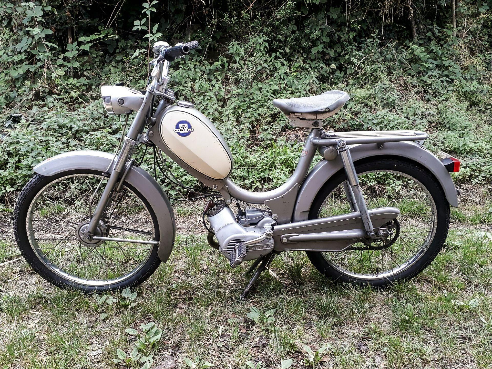 1969 Hercules Saxonette 222 Mf Mofa Mofa Motorrad