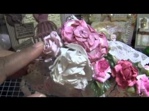 Shabby Chic Tussie Mussie - YouTube