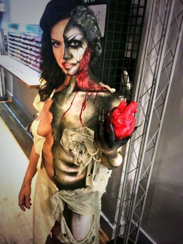 20 Halloween Costumes Makeup Ideas   Body paint, Costume makeup ...
