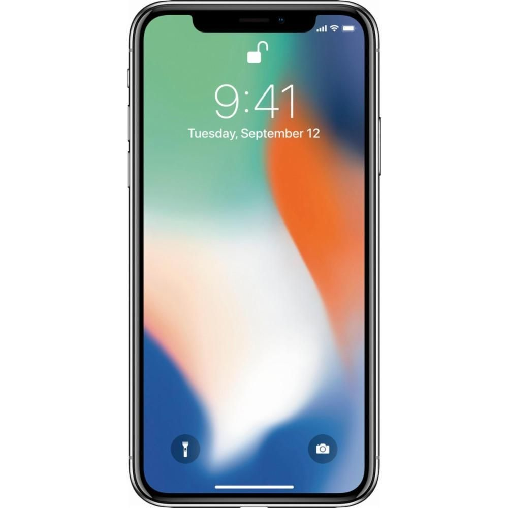Iphone X 256gb Silver Unlocked Iphone T Mobile Phones Apple